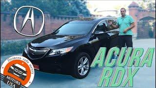 Видеообзор Acura RDX 2012 года.  Авто из США