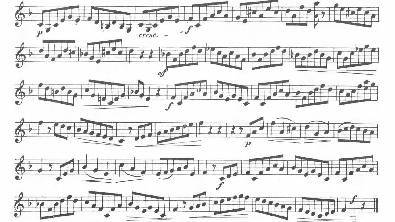 Etude Op. 849 No. 21