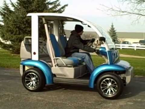 2002 Ford Think Neighbor Electric Lsv Golf Cart Gem