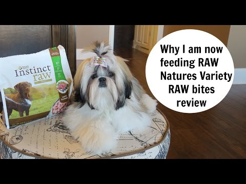 Natures Variety RAW Bites DOG FOOD