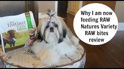 Natures Variety RAW Bites DOG FOOD