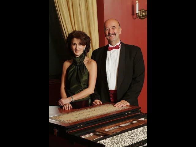 Antonio Soler  - Concerto VI para dois instrumentos de tecla (1º movimento)