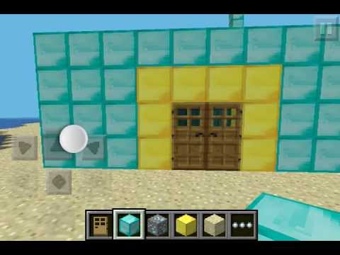 Minecraft pe como construir tu hotel de lujo 1 paso for Minecraft casas de lujo