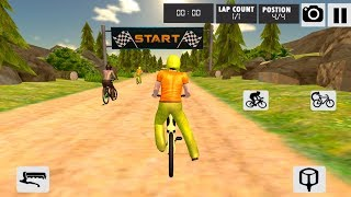 Mad Skills Dirt Track Bicycle Race - Extreme Sports - motocross racing game