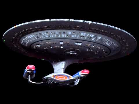 Star Trek TNG HD Ambient Engine Noise (Idling for 12 hrs  in