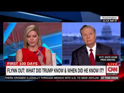 Graham Reacts To General Flynn