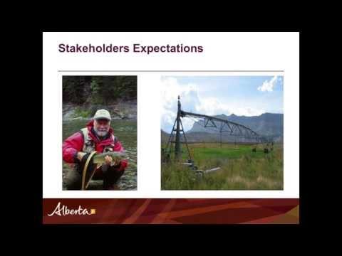 Challenges in Water Management in the South Saskatchewan Basin (Derek Lovlin)
