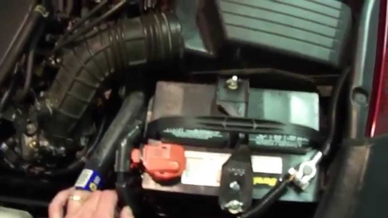 2002 Honda Crv Fuse Box Diagram Origami Unicorn 2004 Accord Slow Start And Efi Relay Problem - Youtube