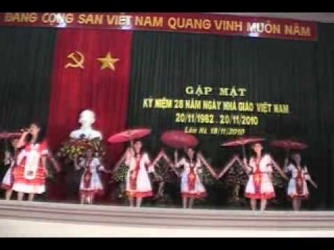 Cô giáo bản em TH Đinh Văn 5- Lâm Hà