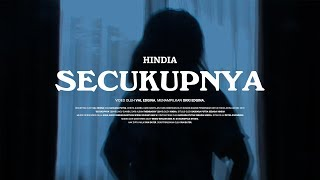 Gambar cover Hindia - Secukupnya (Official Video)
