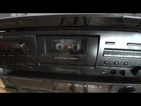 Pioneer CT-S 740S Recording from Radio to Cassette - Classical Music