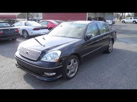 2002 Lexus Ls430 Start Up Engine And Full Tour Youtube