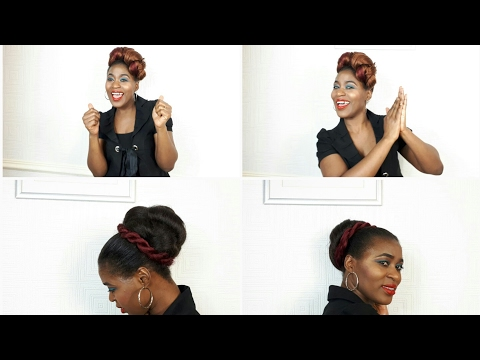 NATURAL WEDDING HAIRSTYLES/ PROTECTIVE STYLES FOR ALL HAIR TYPES