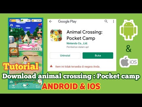 Cara download animal crossing pocket camp di android & ios - YouTube