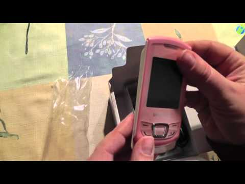 unboxing pl SAMSUNG MONTE SLIDER E2550 rozpakowanie po polsku