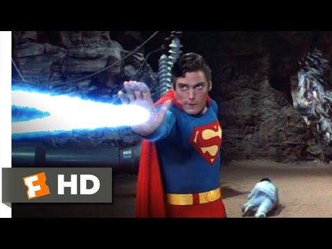 Superman III (9/10) Movie CLIP - Superman vs. Supercomputer (1983) HD