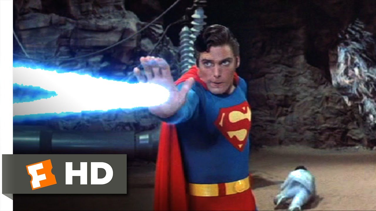 Superman III (9/10) Movie CLIP - Superman vs  Supercomputer (1983) HD