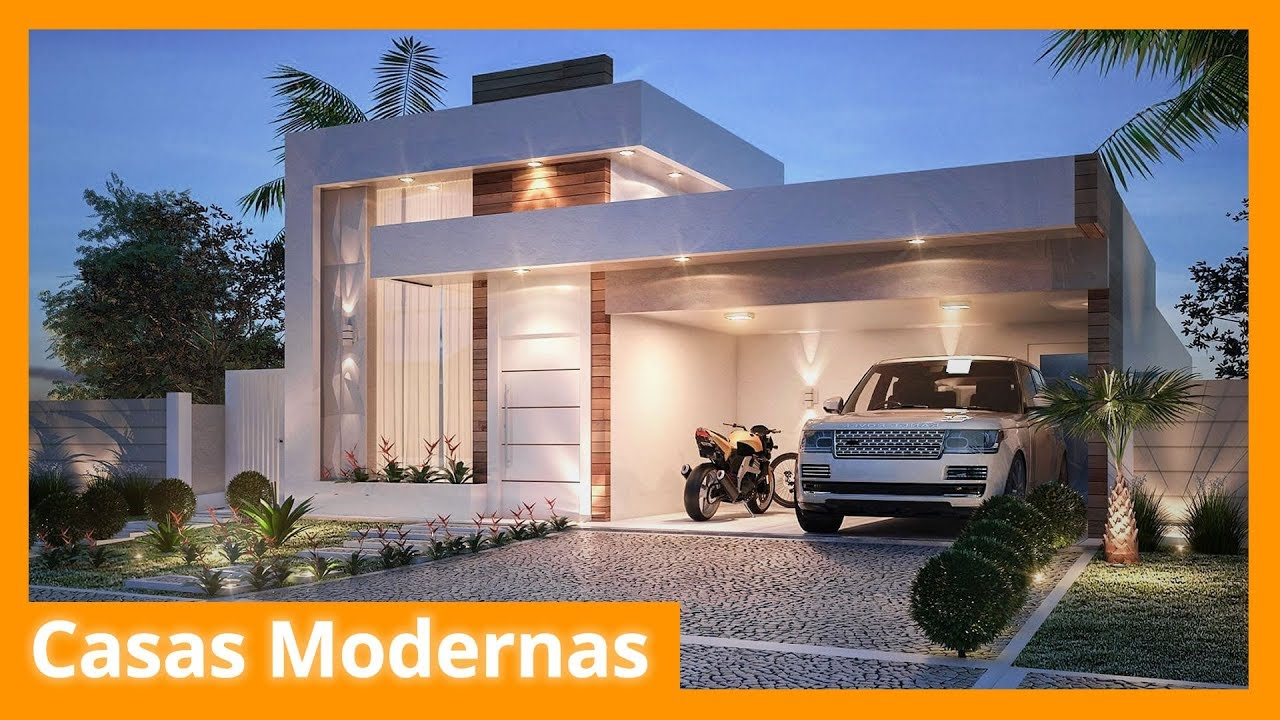 Casas modernas youtube for Casa moderna con portico
