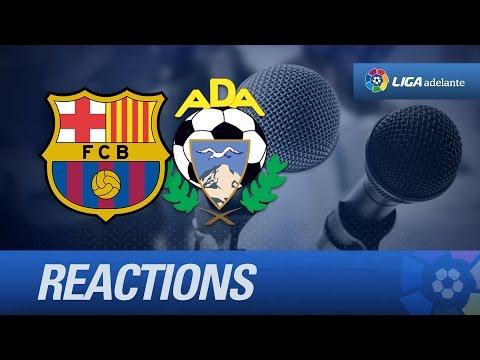 Rueda de prensa de Eusebio tras el FC Barcelona B (4-1) AD Alcorcón - HD