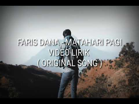 Matahari pagi ( video lirik ) original song