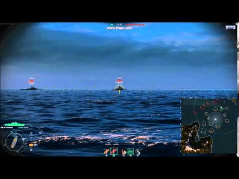 Proof of aim assist in WoWS - World of Warships Metagame