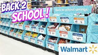 BACK TO SCHOOL SHOPPING WALMART 2019