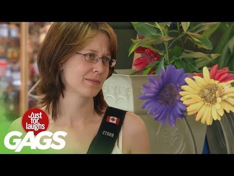 The Craziest GARDEN in The World - Best Of Just For Laughs Gags