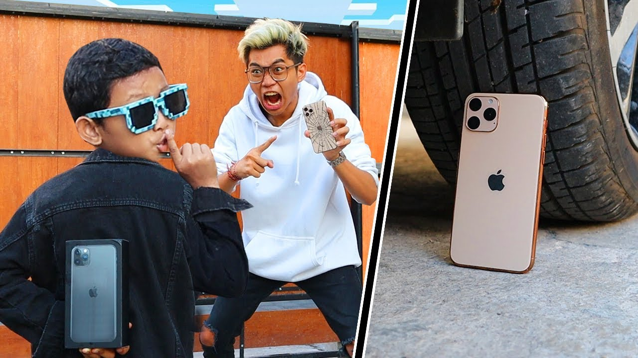 KAMPRET!!! HANCURIN IPHONE 11 FROST DIAMOND, TAPI KASI YANG BARU! GA PERNAH SEMARAH INI!!!