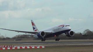 Video British Airways Boeing 787-8 G-ZBJE Close Take Off Cambridge Airport (FullHD) download MP3, 3GP, MP4, WEBM, AVI, FLV Maret 2018