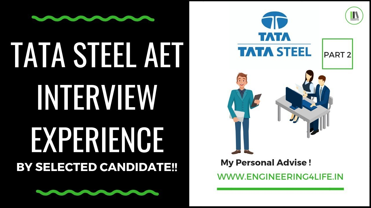 TATA STEEL AET Interview Experience