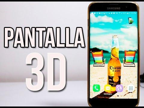 Pantalla 3D Para Android Muy Realista