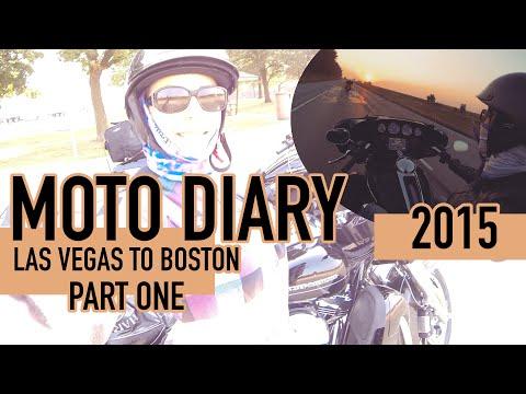 Moto Diary 2015: Las Vegas to Boston - Part One