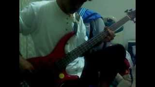 arch enemy   carry the cross bass cover