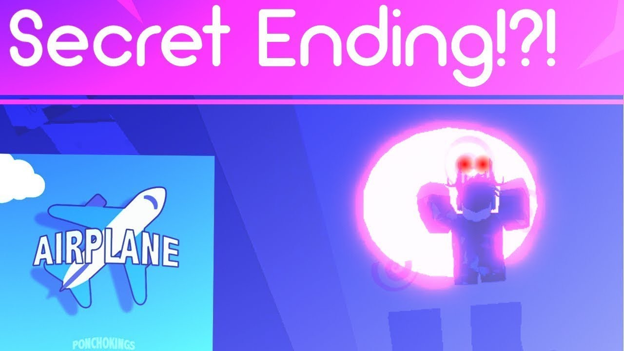 Roblox Airplane Story Endings - Roblox Airplane Secret Ending Roblox Airplane Story
