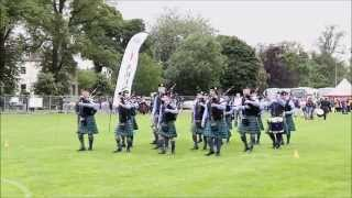 Perth 2015 - Silver Thistle Pipes & Drums (Grade 3)