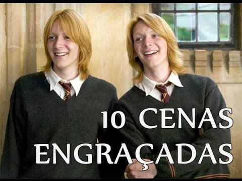 TOP 10 Cenas Engraçadas - Harry Potter