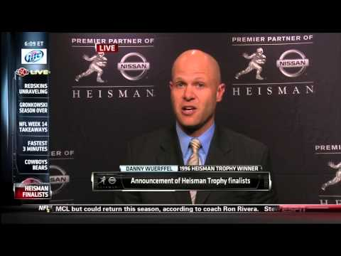 Tre Mason Heisman Announcement