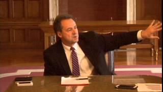 Lee Editor David McCumber asks Gov. Steve Bullock about Lt. Gov. Angela McLean
