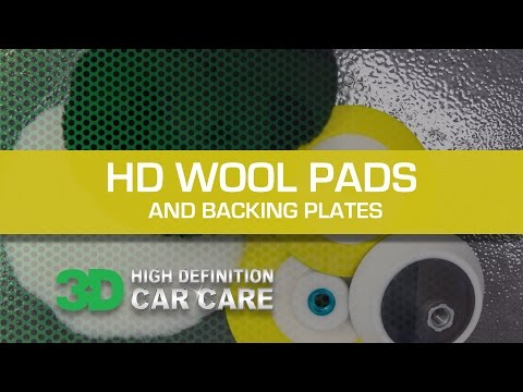 HD PREMIUM CUT LAMB'S WOOL PADS