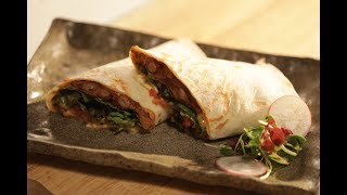 Mexican Achari Wrap | Healthy Recipes with Nutralite Mayo | Sanjeev Kapoor Khazana
