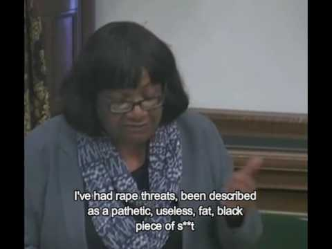 Diane Abbott on racist/sexist abuse