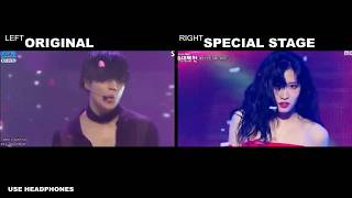 Download TAEMIN x MOMO x JIHYO (TWICE) - Good Bye [Comparison]
