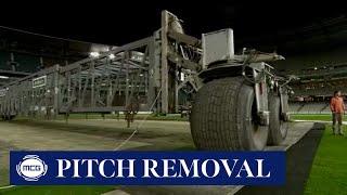 MCG Portable Cricket Pitch Removal