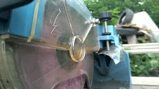Заточка цепи на станке по правилам. Пильная цепь с точными измерениями и углами.