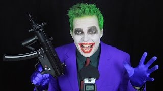 Relax with THE JOKER - ASMR whisper, metal, fabric, soft voice (parody) - TheSeanWardShow