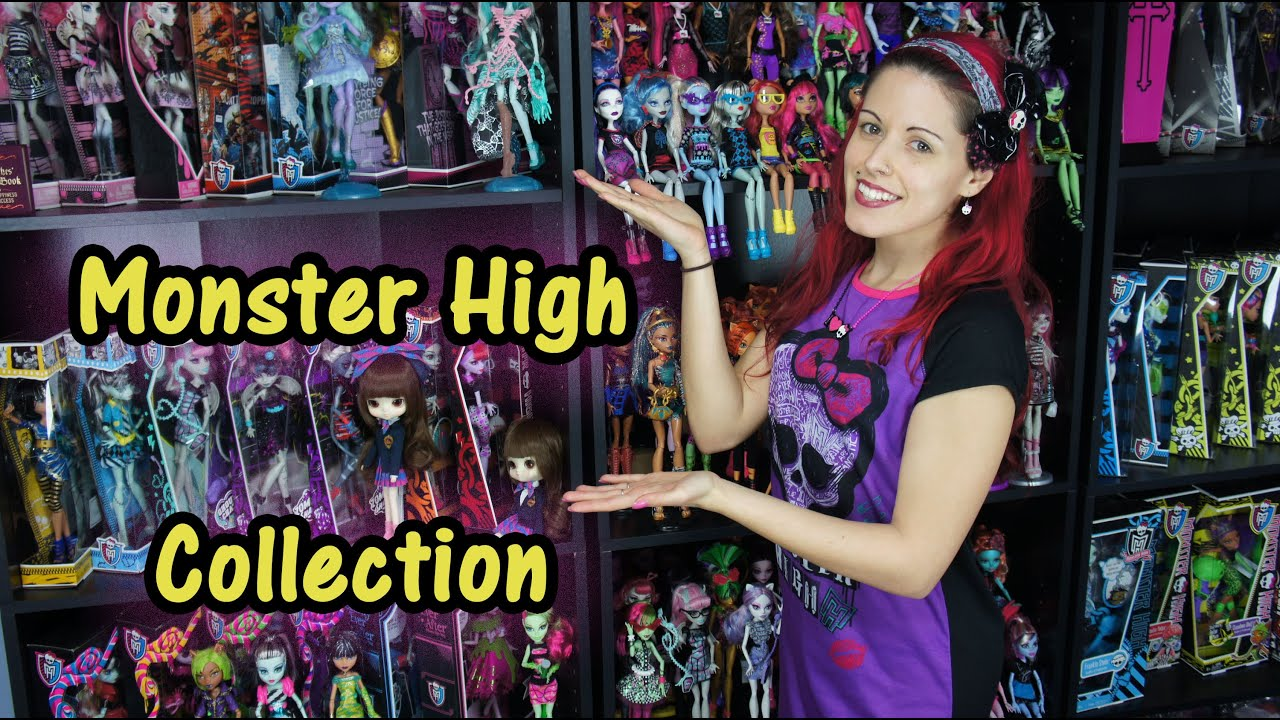 Monster high doll collection update 2015 youtube - Monster high youtube ...