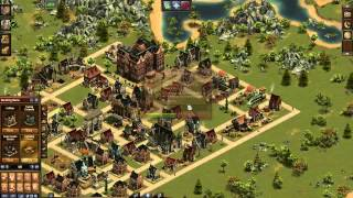 Forge of Empires Time Lapse - From Stone Age to Contemporary Era