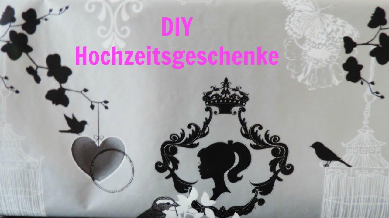 Diy Hochzeitsgeschenke Geldgeschenk Frau Farbenfroh Youtube