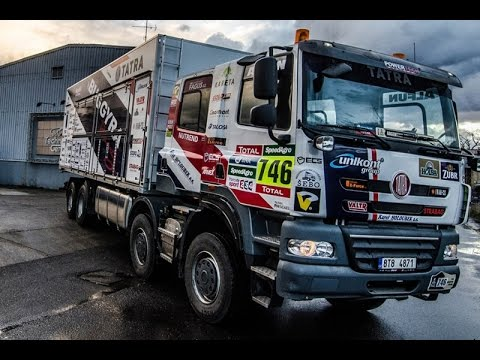 TATRA PHOENIX 158 - DAKAR 2017 HD Buggyra Racing - Fast assistance
