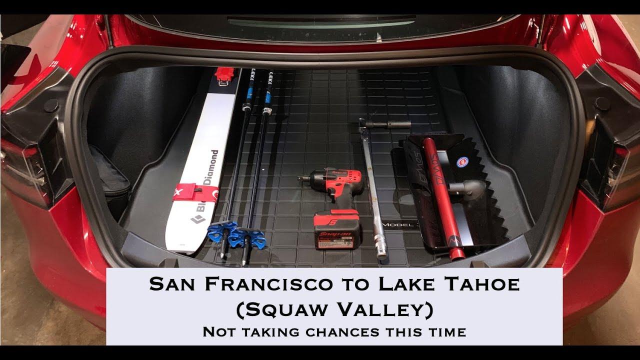 Tesla Model 3 - San Francisco to Lake Tahoe - YouTube